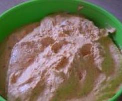 Leckerer Dip/Brotaufstrich (Auberginen-Creme - wie vom griechischen Marktstand)