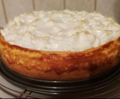 Quark-Baiser-Kuchen (Tränchenkuchen) nach Frischbörner Landfrauen Art