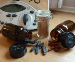 Schokoladen-Salz mit Tonkabohne und Chili