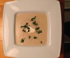 Steinpilz-Kartoffel-Schaumsuppe