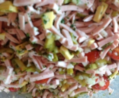 Superleckerer Wurstsalat