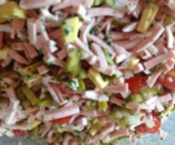Superleckerer Wurstsalat