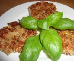 Grünkern-Quinoa-Bratlinge