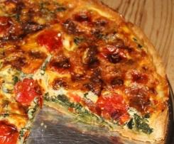 Gorgonzola-Gemüsekuchen