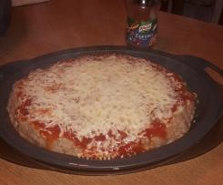 Hackfleischpizza -          Super einfach, sehr lecker!