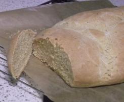 Leckeres Brot zum Grillen