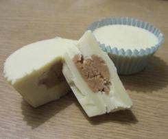Peanutbutter Cups mit weißer Schokolade
