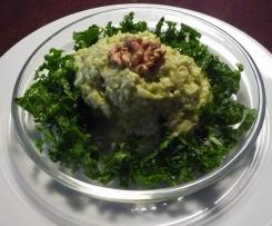 Weisskohlsalat mit Avocadodressing vegan