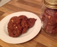 Erdnuss-Karamell-Cookies