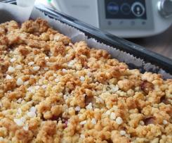 Zwetschgendatschi/-kuchen mit Knusperstreusel