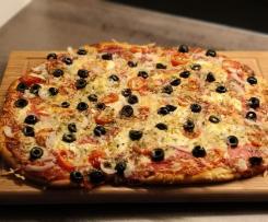 Pizzateig knusprig italienisch