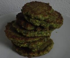 Zucchini Dinkel Pancakes, schnell gemacht