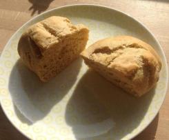 Kamut Buttermilch Brötchen- über Nacht im Kühlschrank, ruckzuck zum Frühstück