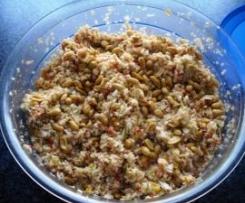Krautsalat mit Erdnüssen