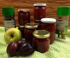 Zwetschken-Apfel-Marmelade