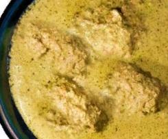 georgisches Walnuss-Huhn mit Kartoffeln - Saziwi
