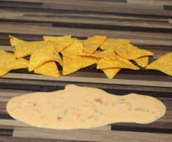 Chillie Cheese Dip für Tortillas/ Nachos