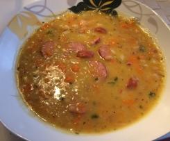 Weiße-Bohnen-Suppe (Weiße-Bohnen-Eintopf)