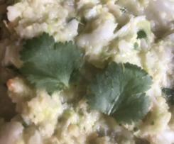 Chinakohl-Koriander-Salat