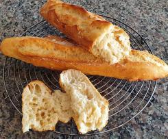 Baguette (ohne zu formen)