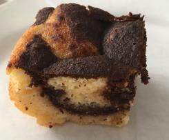 Marmorkuchen (Lowcarb, ohne Weizenmehl) Blechkuchen