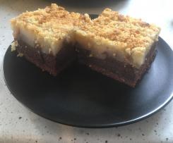 Schoko-Birnen-Blechkuchen mit Streusel