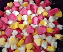 Bunte Marshmallows