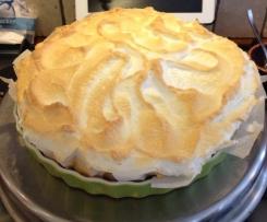 Florida Key Lime Pie - Limetten Kuchen mit Baiser Haube