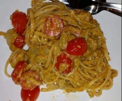 Sizilianische Pute mit Spaghetti - Deliziosooo (WW-Rezept)
