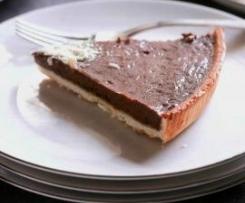 Schokoladen-Tarte (Tarte au Chocolat)