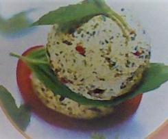 Basilikum-Tomaten-Butter