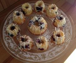 Heidelbeer-Mini-Gugls
