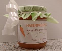 Mango-Möhren-Konfitüre (Hasenfrühstück)