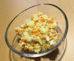 Sellerie-Cashew-Salat