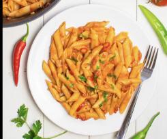 One-Pot-Pasta mit Gemüse