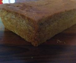 (Teff-) Brot in Kastenform (glutenfrei)