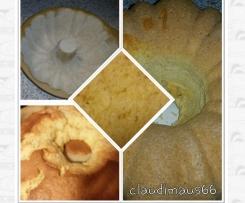 Zitronentraum - locker, fluffiger Rührkuchen