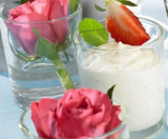 Weisse Mousse