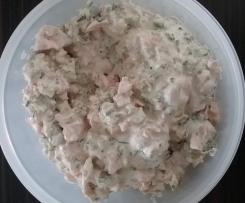 Fleischsalat mit Joghurt