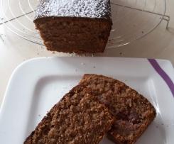 Eiweißverwertung, Eiweiß, Schoko-Kirsch-Kuchen
