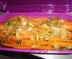 Marinierte Karotten...