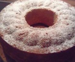 Eierlikör Kuchen mit Apfel