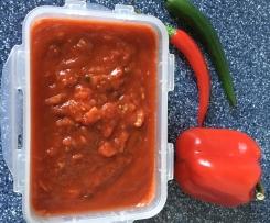 Sauce Zigeunerart scharf