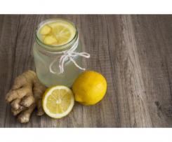 Ingwer Zitrone Sirup