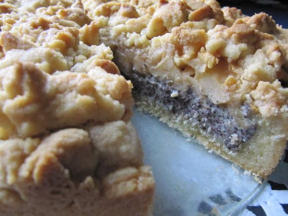 Obst Mohn Kuchen Mit Streuseln Von Sabri Ein Thermomix Rezept Aus