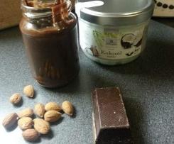 Mandel-Kokosöl-Schoko-Aufstrich