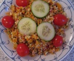 Radieschen-Möhren-Salat