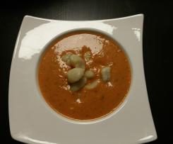 Steffis Tomatensuppe mit Gnocchi