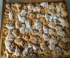 Vanille- Apfel- Blechkuchen