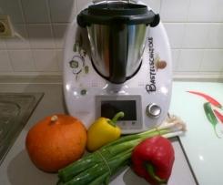 Gemüsepuffer mit Bärlauch und Parmesan